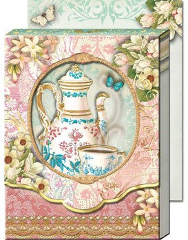 Tea Time w/ Window - Pocket Notepad