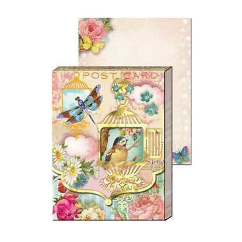 Pocket Notepad - Birdcage