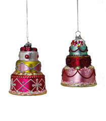 Cake Stack Ornament (More Options)