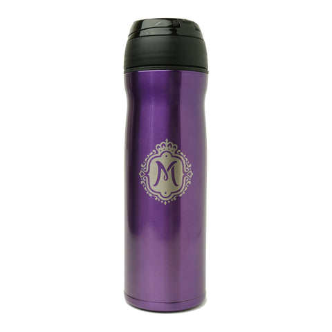 Queen Mary 12oz Travel Mug - Purple