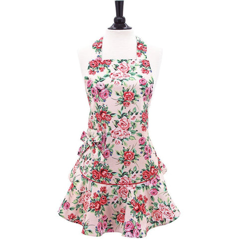 Jessie Steele Apron- Rose