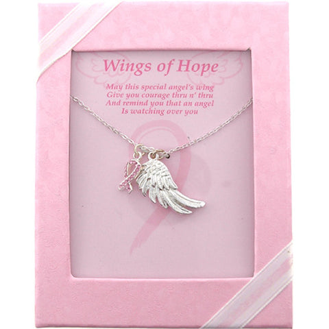 Wings of Hope Necklace
