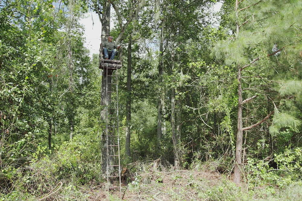 Safety first with Heaven's Trail Tree Stands