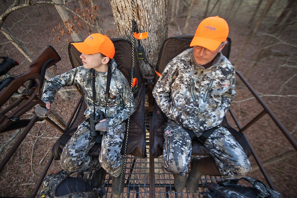 Hunters in Hang Around® Double