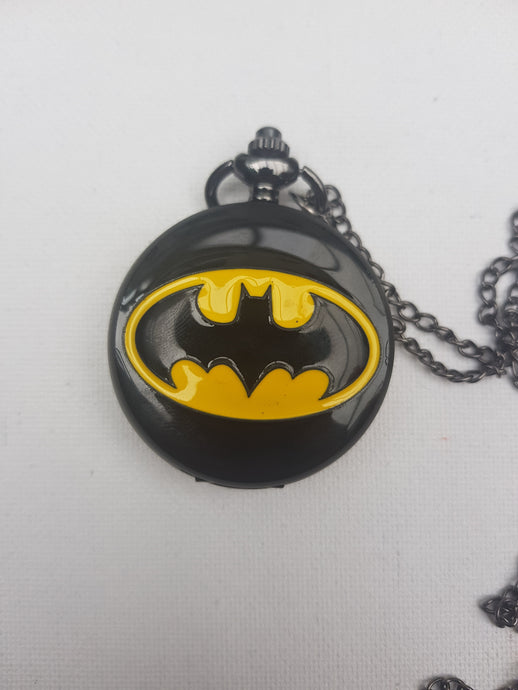 Batman Black Pocket Watch
