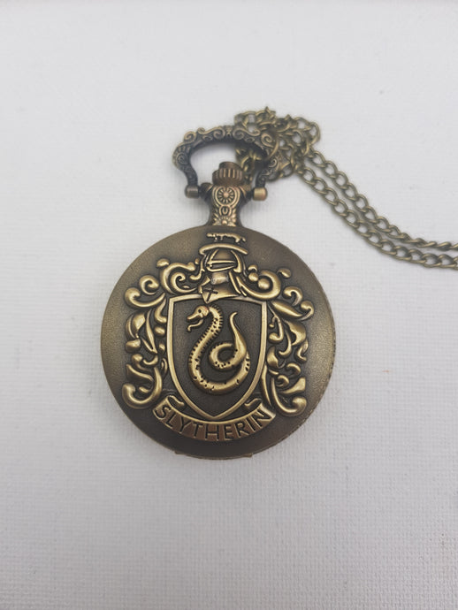 Slytherin cheap pocket watch