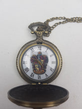 Load image into Gallery viewer, Gryffindor cheap pocket watch open