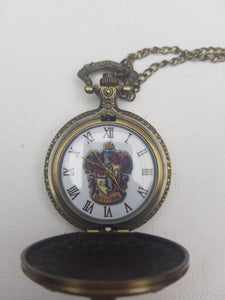 Gryffindor cheap pocket watch open