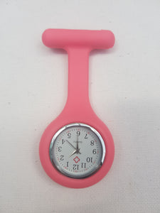 Coloured Silicone Nurses Fob Watch