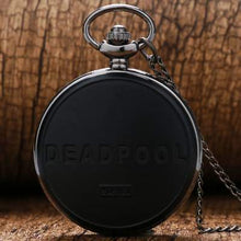 Load image into Gallery viewer, deadpool modern pocket watch back