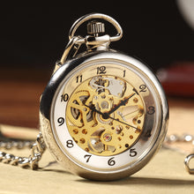 Load image into Gallery viewer, no case gold pocket watch