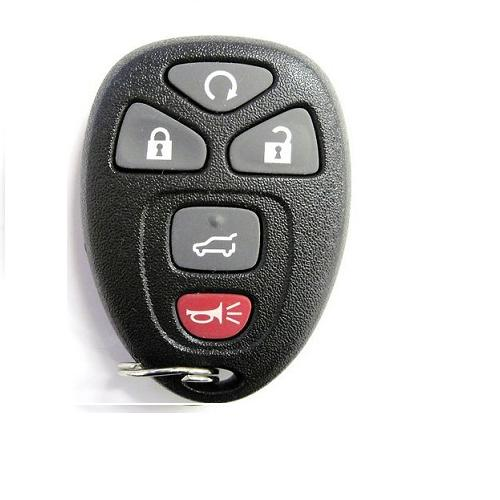 Buick 5button Remote Set FCC ID:OUC60221 315MHz FCC ID:OUC60221