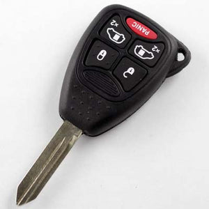 Chrysler, Jeep, Dodge Ram Remote Key (4+1 button ) 315mHZ  FCC ID:M3N5WY72XX
