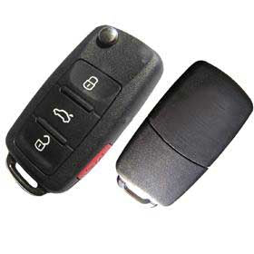VW Volkswagen Remote Flip Key
