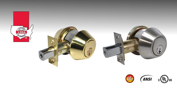 LSDA 220 Series Heavy-Duty Deadbolts