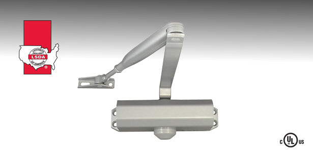 LSDA DC724 Series Door Closer is a surface-mounted closer for small to medium size doors.