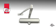 LSDA DC84 Series Surface Mounted Door Closers are designed for moderate-level traffic on small-to-medium sized doors