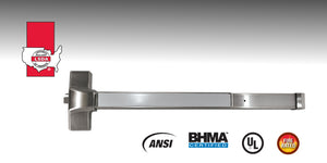 LSDA PD9000 Heavy-Duty Rim Exit Device is a touch bar style designed to meet the needs of heavy traffic areas.