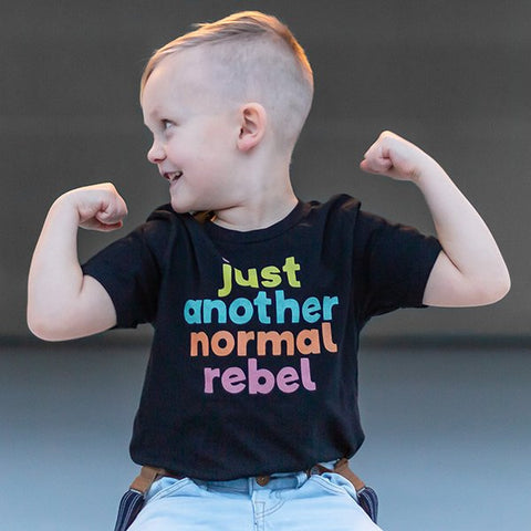 Just Another Normal Rebel • t-shirt