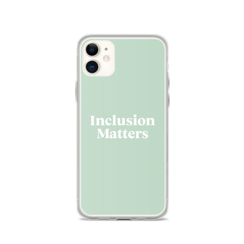 iPhone Case • Inclusive Matters • Green