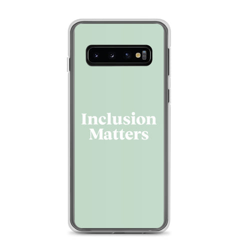 Samsung Case • Inclusive Matters • Green