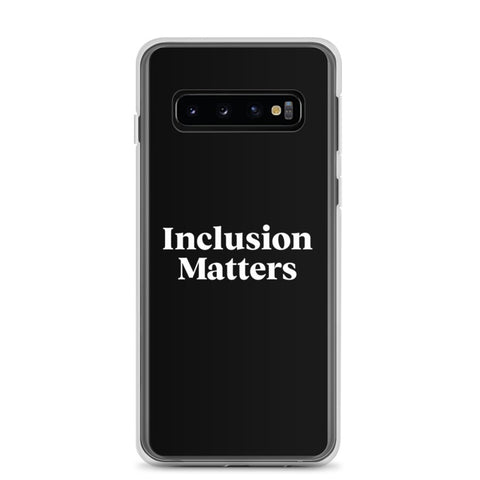Samsung Case • Inclusive Matters • Black