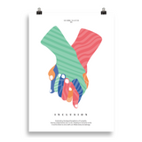 Inclusion (color) • poster