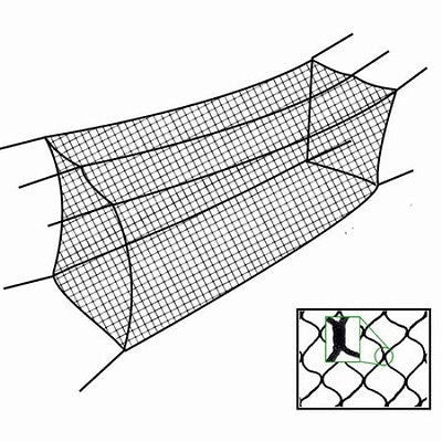 48x12x11 Batting Cage Net #36 braided knotless CM-4821JBC  Baseball Softball Net