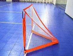 BowNet Lacrosse Box 4'x4' Portable Goal Net with Carry Bag