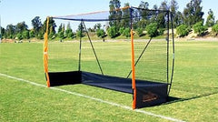 Bownet Portable Field Hockey Net is official size 7' x 12' x 4'