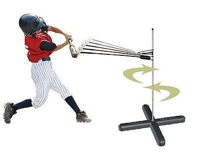 Batter Up Baseball Batting Machine & Hitting Stick 2 In One Trainer Practice