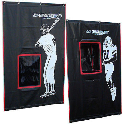 Baseball Softball Football Sports Backstop Catch Net Vinyl 2 Sport Catcher