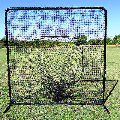 Baseball Practice Net Sock & Frame Heavy Frame & Strong Twited Poly Hit & Pitch
