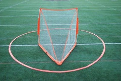 BowNet Womens Portable Lacrosse Goal Crease with Bag Bow Net