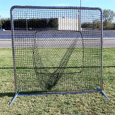 "Baseball Softball Sock Net Commercial Grade 2"" galvanized steel for Heavy Use"