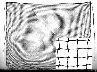Baseball Batting Cage #60 Twisted Poly 12X14 Backdrop See Through Back Stop