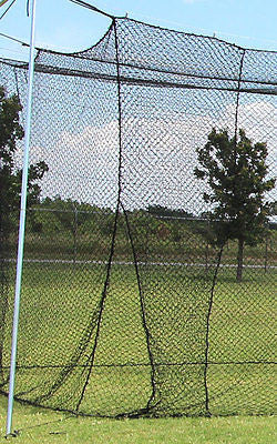 Baseball Batting Cage Net Netting #36 Twisted Poly 55X12X12 With Door