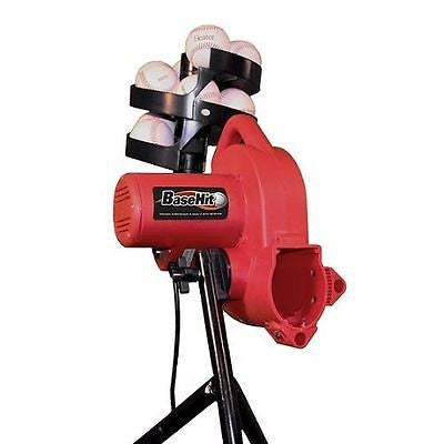 Basehit Real Baseball Pitching Machine With Auto Feeder