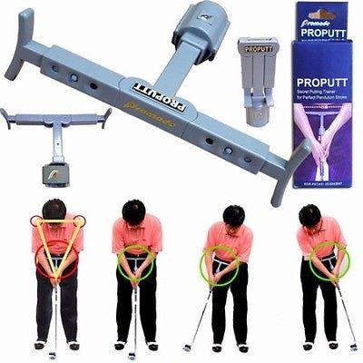 Unex ProPutt Golf Putting Trainer Golfing Swing Aid