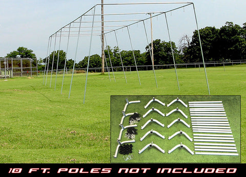 "55x12x12 - 1 1/2"" Batting Cage Frame Corner Kit"