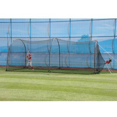 Baseball Batting Cage 24 X 12 X 12 Backyard Complete System Net XT299