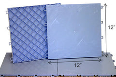 "Dryland Hockey Practice Flooring 20 12"" By 12"" tiles Blue"