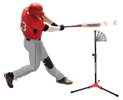 Baseball Hitting Tee Flop Top Flexible Portable Batting Trainer