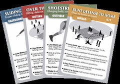 Coachdeck Softball Practice Drill Cards Coach Training Aid