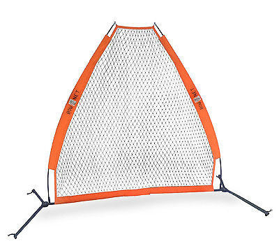Baseball Pitching Screen BOWPS Bownet Portable Batting Practice Coach Net
