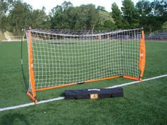 Portable Soccer Goal Practice  Bow Net NEW Bownet 5X10