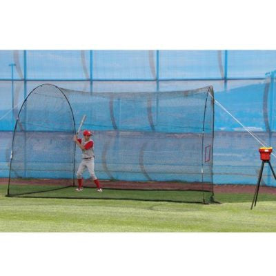 Batting Cage Backyard Lite Ball Practice Great companion to Insider Bat or Swift