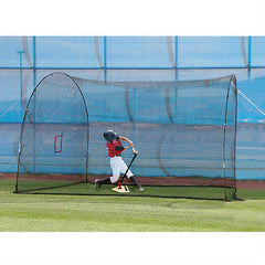 Batting Cage HomeRun 12 Ft. Mini & Lite Ball Home Hitting Practice