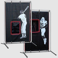 2 Sport Catcher Vinyl Backstop With Frame Baseball/Football