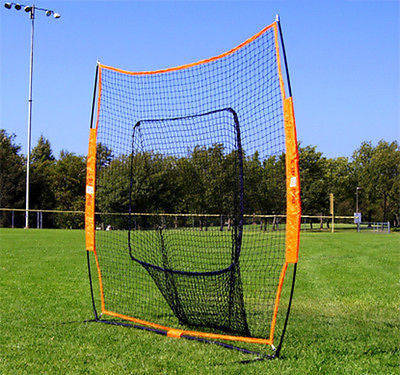 Bow Net Big Mouth Portable baseball Softball Practice Net Hitting Pitching